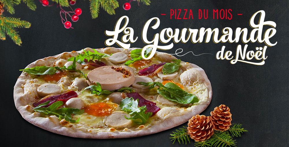 Pizza du mois de décembre