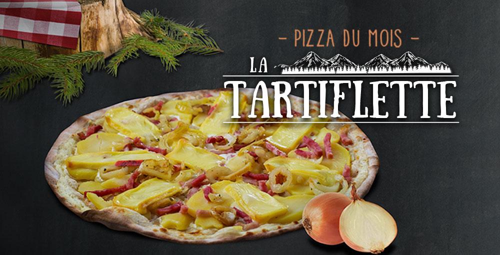 Pizza du mois de janvier