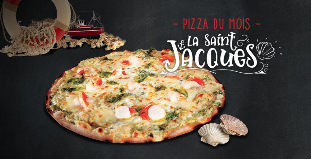 Pizza du mois de février