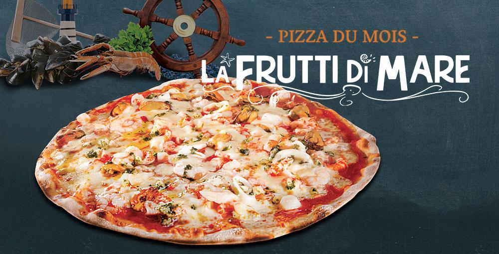 Pizza du mois de juin