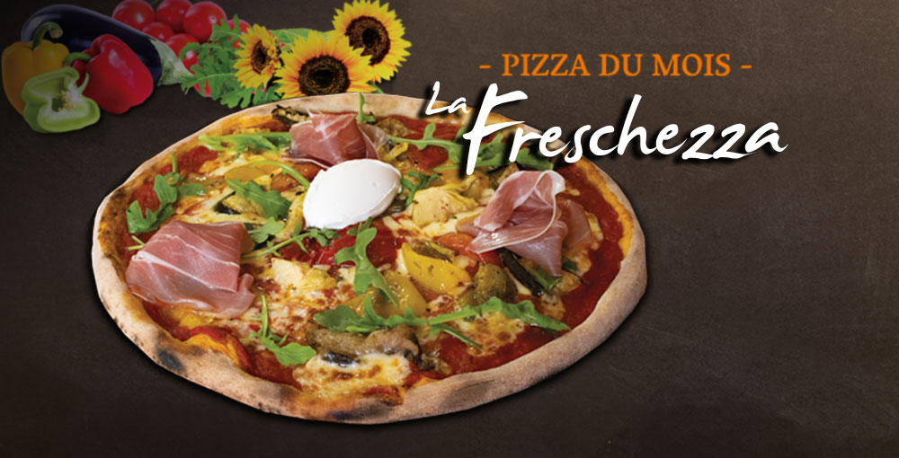 Pizza du mois de juillet
