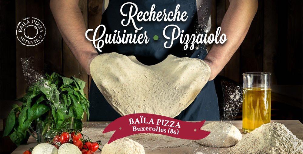 RECHERCHE : Cuisinier(e)/Pizzaiolo